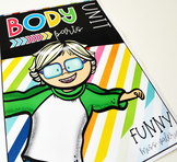 Body Parts Unit - (flaschards + learning stations)