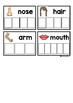 Body Parts Word Puzzle