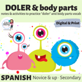 Body Parts and Doler - Games & Activities for Practice