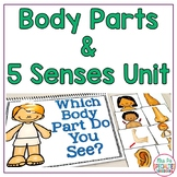 Body Parts and Five Senses: Special Ed Thematic Unit