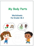 Body Parts and Sense Organs for Grade 1 and 2