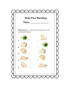 Body Parts for Early Learners