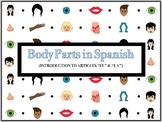 Body Parts in Spanish (Worksheets, PowerPoint, and Notes)