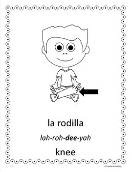 Body Parts Activities and Games in Spanish - Las Partes del Cuerpo