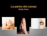 Body Parts (las Partes del Cuerpo) en español