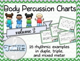 Body Percussion Charts - Volume 2