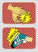 Body Percussion Cards - Comic in Color