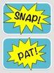 Body Percussion Cards - Comic in Color