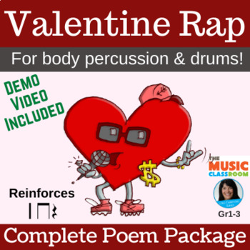 "Body Percussion & Drum Chant | ""Valentine Rap"" 