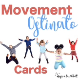 Body Percussion/Movement Ostinato Cards