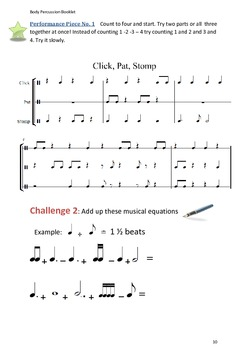Body Percussion Booklet