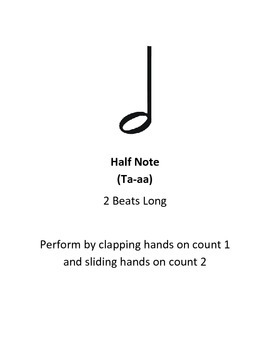Body Percussion Rhythm Composition