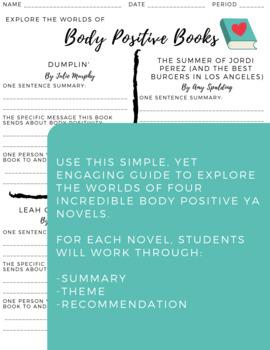 Body Positive Books: Explore Four BP YA Novels