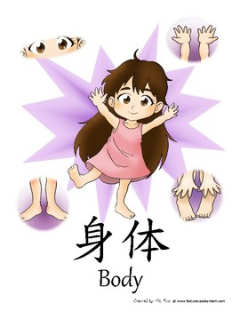 Body Pre-K/K Pack (English with Simplified Chinese)