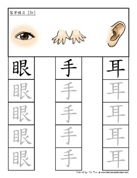 Body Pre-K/K Pack (Simplified Chinese)