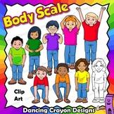Body Scale Music Clip Art | Kodaly Kids