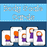 Body Scale Visual Cards - Beginning Solfege and Teaching High and Low