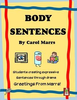 Drama Game-Body Sentences