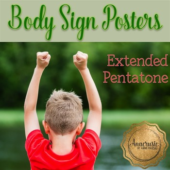 Body Sign Posters - Extended Pentatone