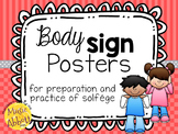 Body Sign Posters for the Preparation and Practice of Solf