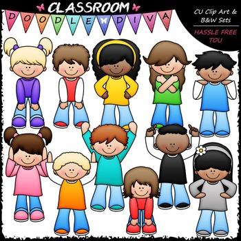 Body Signs Clip Art - Actions Kids Clip Art - Movement Cli