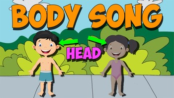 Body Song Music Video! Teach the Parts of the Body!