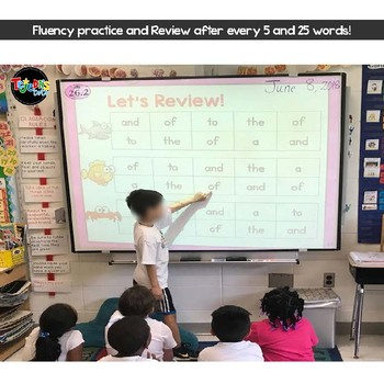Body-Spelling Sight Words PowerPoint: Set 2