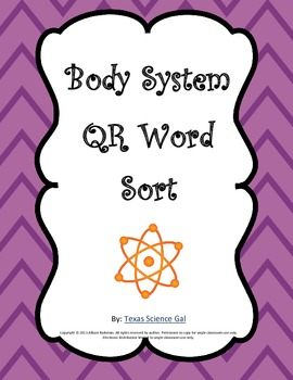 Body System QR Code Sort