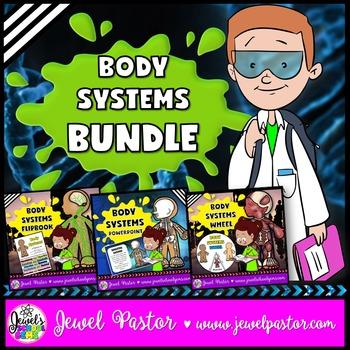 Human Body Systems Activities BUNDLE (PowerPoint, Flipbook