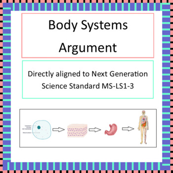 Body Systems Argument NGSS MS-LS1-3