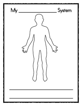 Body Systems Booklet for Common Core