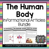 Body Systems Informational Article Bundle