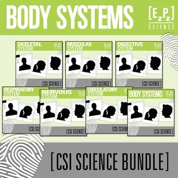 Body Systems CSI Science Bundle- Distance Learning