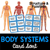 Body Systems Card Sort or Lab Station Activity