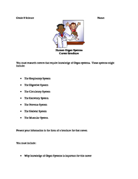 Body Systems Careers Brochure