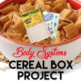 Body Systems Cereal Box Report