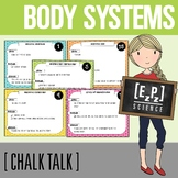 Body Systems Science Task Cards - Chalk Talk Art in Science