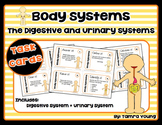 Body Systems: Digestive and Urinary Systems {Task Cards}