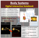 Body Systems - Digital Interactive Notebook
