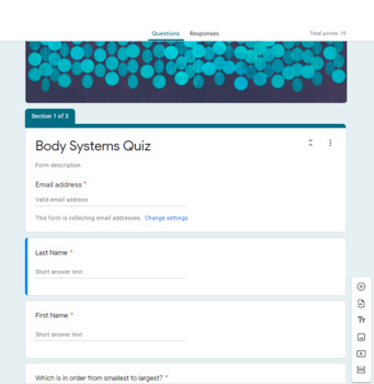 Body Systems Doodle Notes {Aligns with NGSS MS-LS1-3}