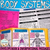Body Systems Activity, Human Body Systems Diagrams | Envelope Book