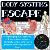 Body Systems Escape Activity