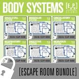 Body Systems Science Escape Room Bundle
