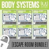 Body Systems Science Escape Room Bundle