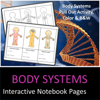 Body Systems Interactive Notebook Pages