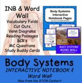 Body Systems INB & Word Wall