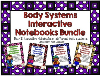 Body Systems Interactive Notebook Bundle