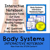 Body Systems Interactive Science Notebook - Distance Learning Friendly