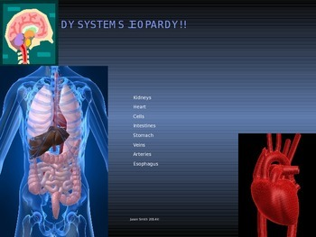 Body Systems Jeopardy