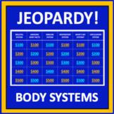 Body Systems Jeopardy - an interactive science game